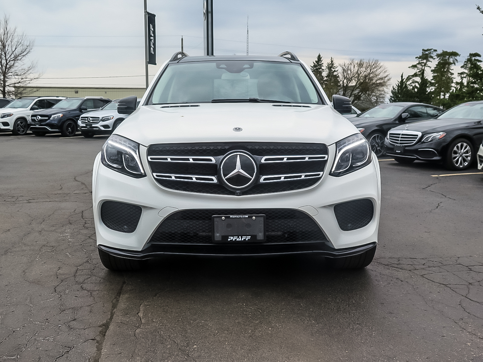 Certified Pre-Owned 2018 Mercedes-Benz GLS450 4MATIC SUV