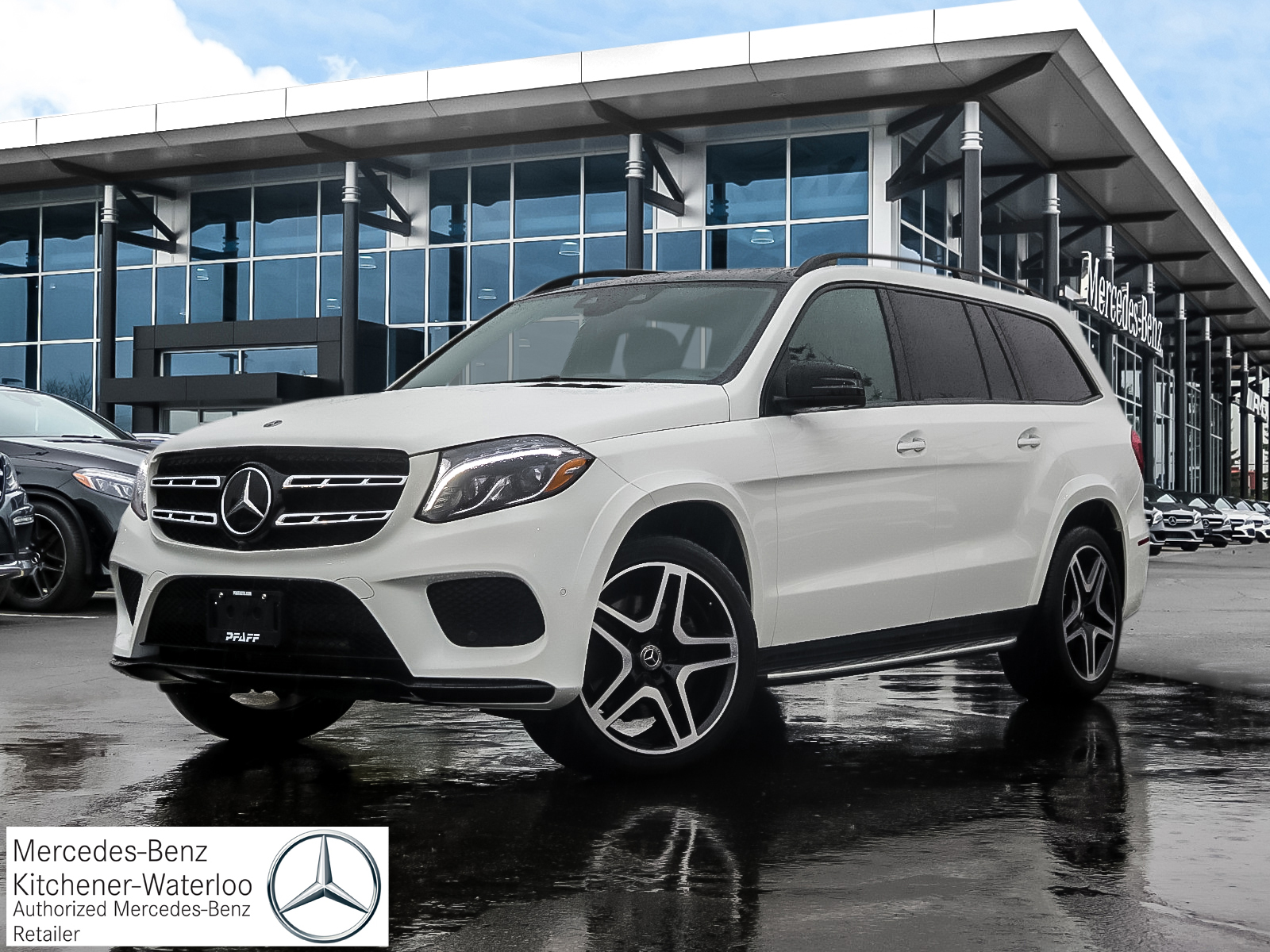 DEMO 2019 Mercedes-Benz GLS450 4MATIC SUV