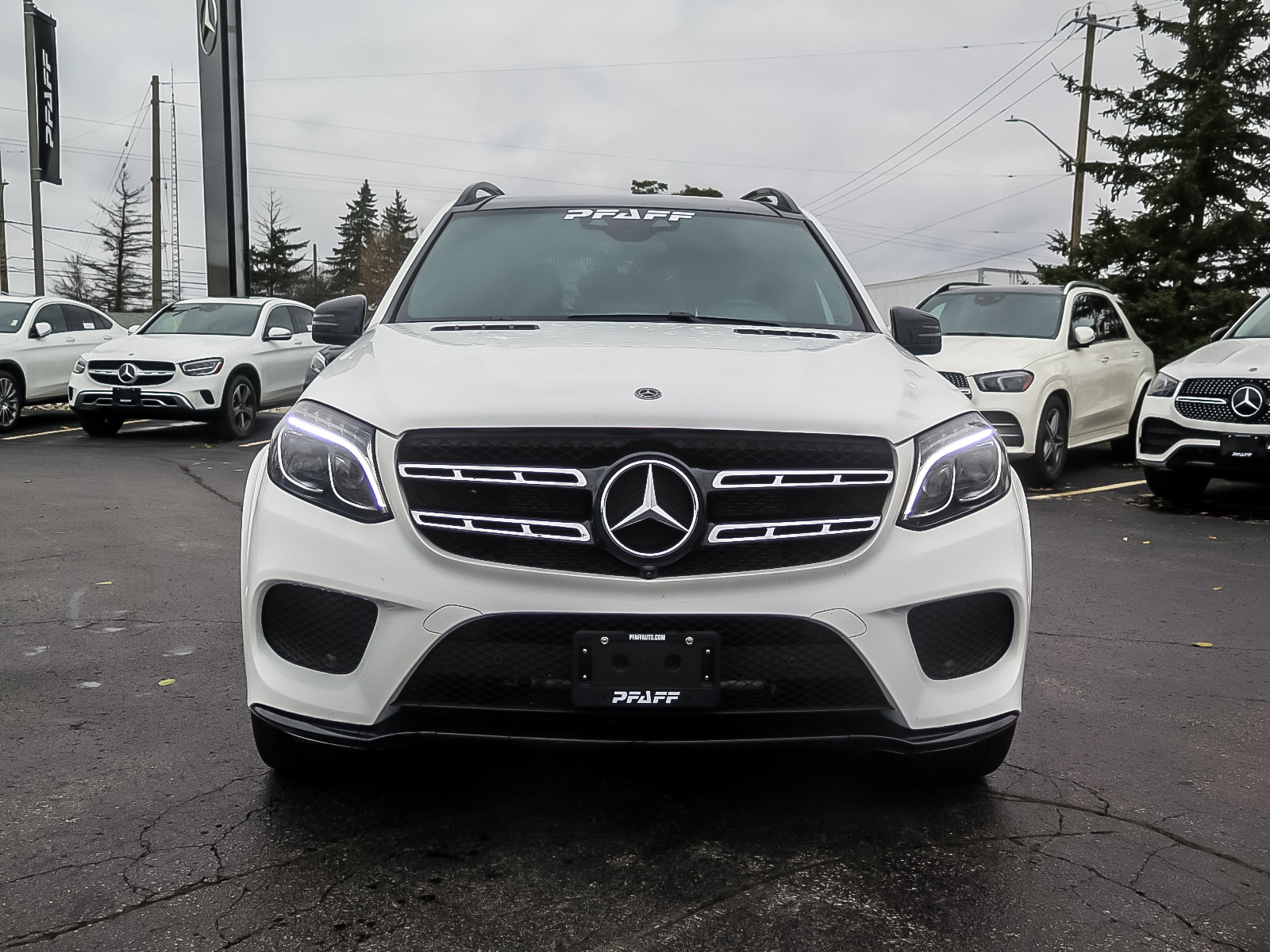 New 2019 Mercedes-Benz GLS450 4MATIC SUV
