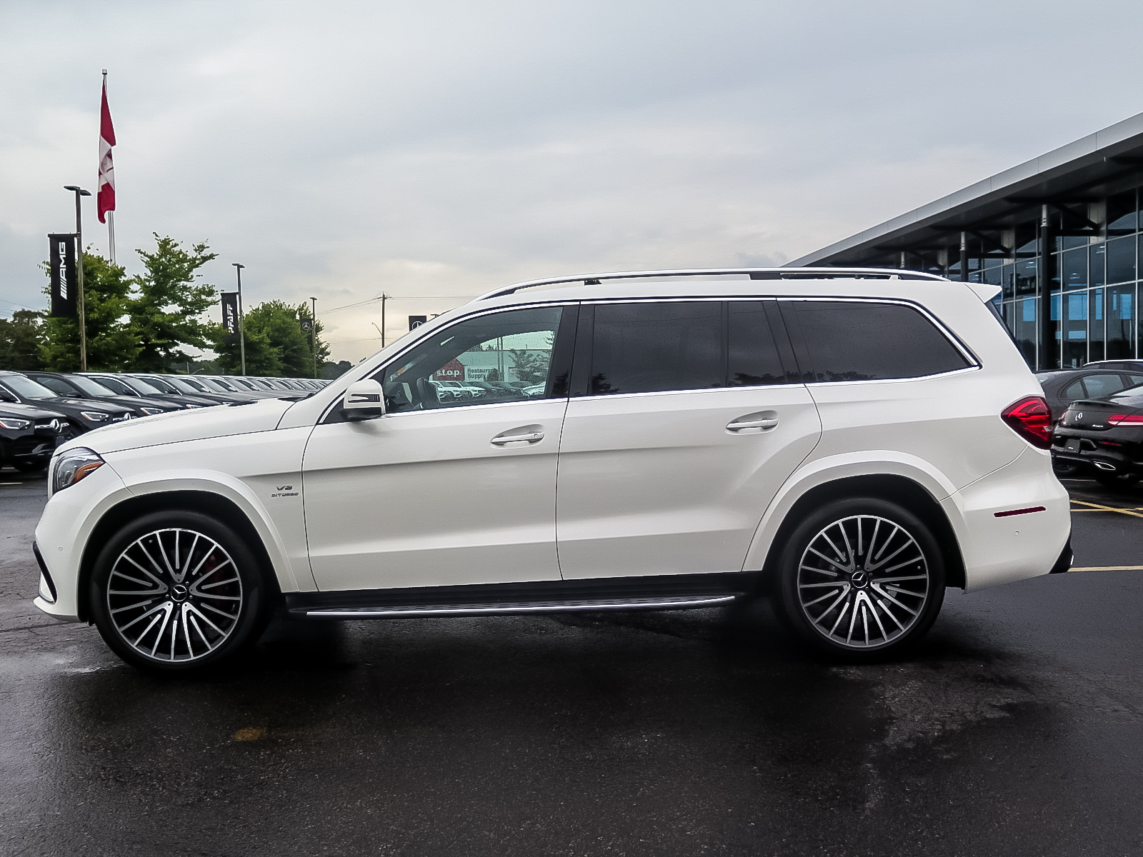 Certified Pre-Owned 2017 Mercedes-Benz GLS63 AMG 4MATIC SUV