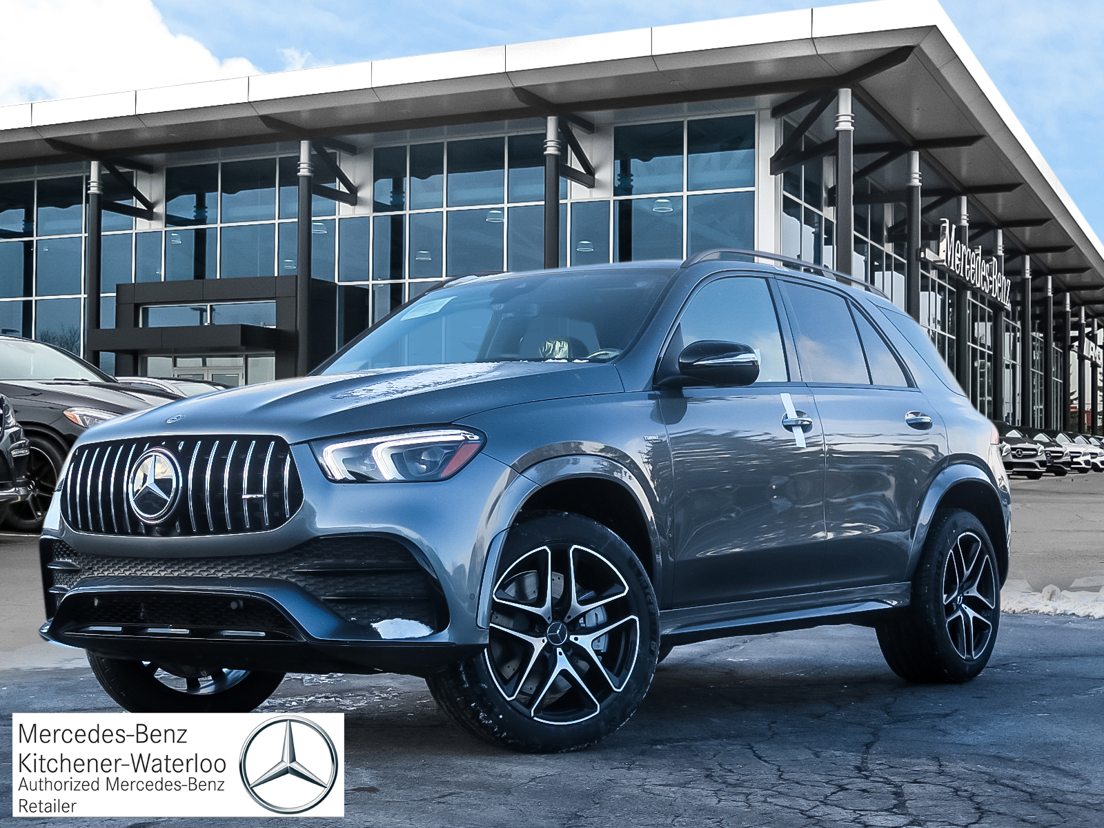 New 2020 Mercedes-Benz GLE53 4MATIC+ SUV