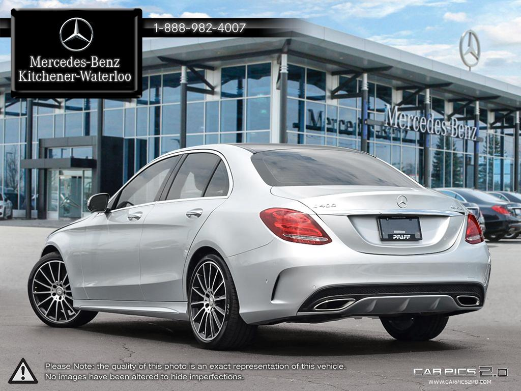 Certified Pre-Owned 2015 Mercedes-Benz C-CLASS C400 4-Door Sedan in ...