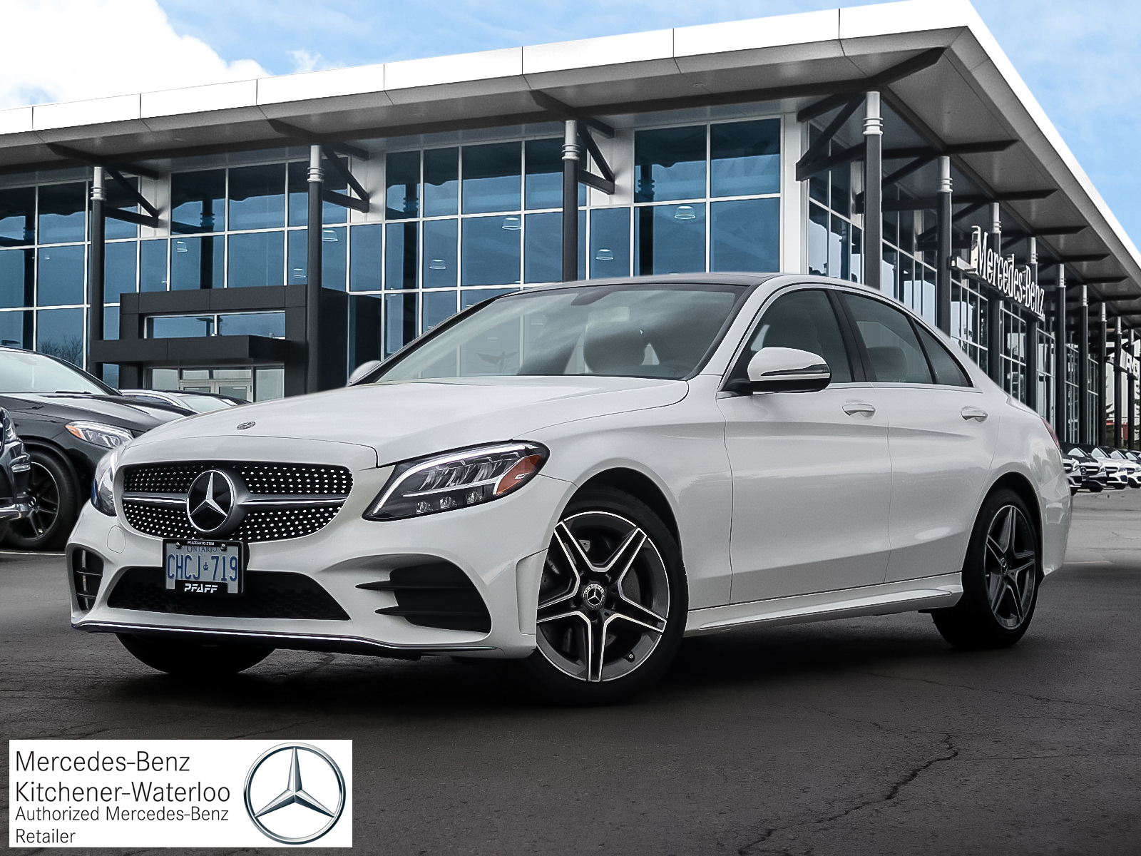 DEMO 2019 Mercedes-Benz C300 4MATIC Sedan