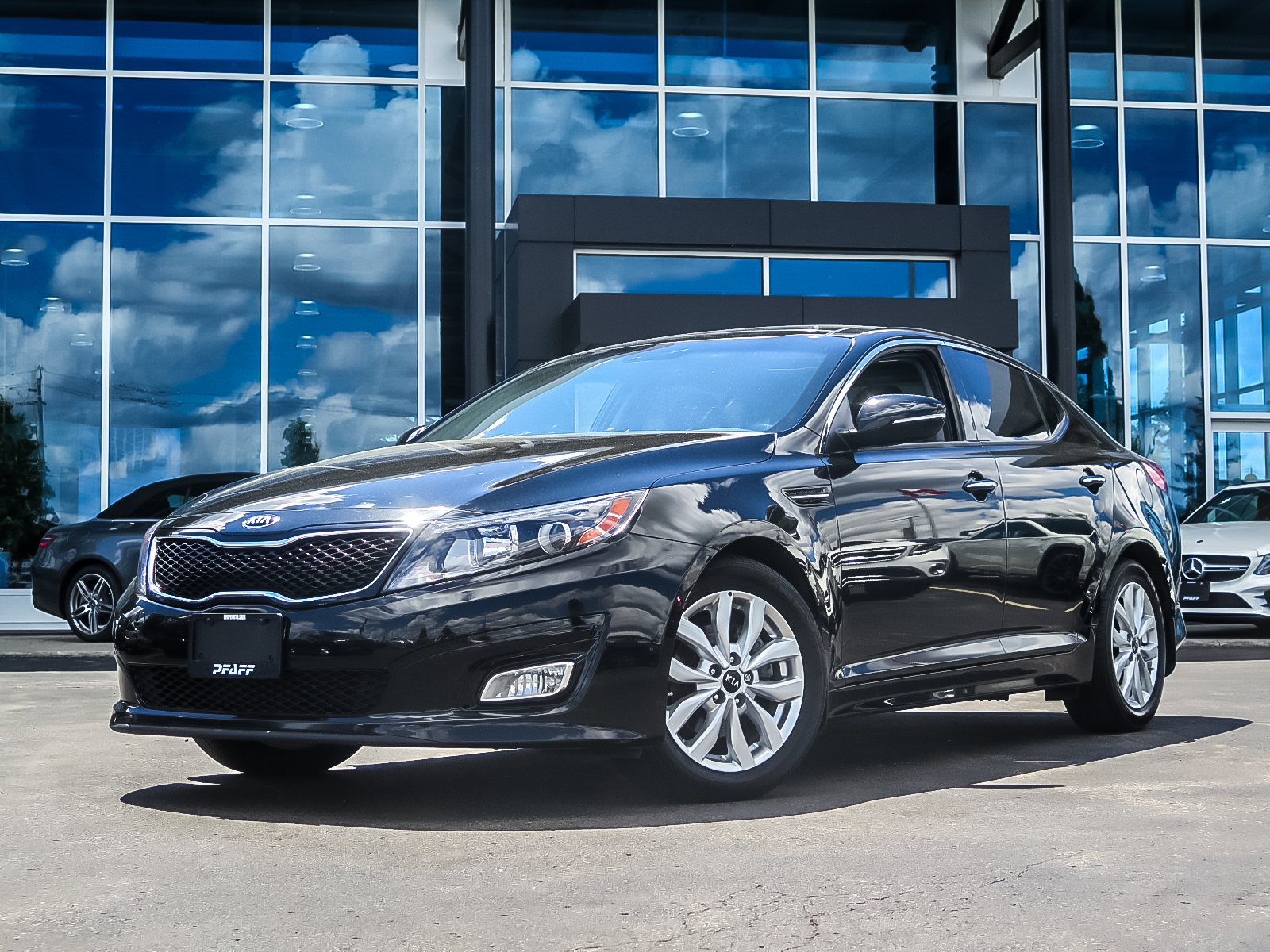 Pre-Owned 2015 Kia Optima EX at Sunroof