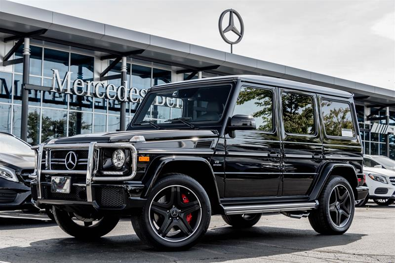 Certified Pre-Owned 2017 Mercedes-Benz G63 AMG SUV