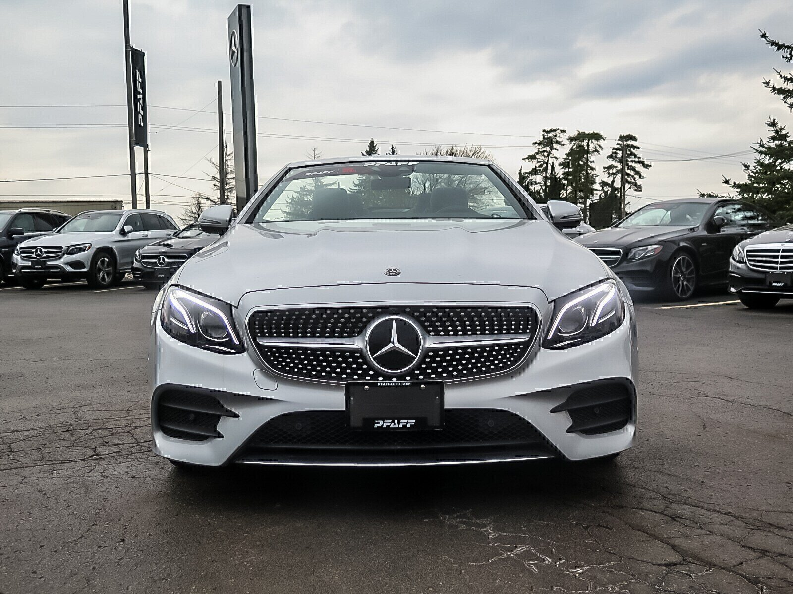 Certified Pre-Owned 2018 Mercedes-Benz E400 4MATIC Cabriolet