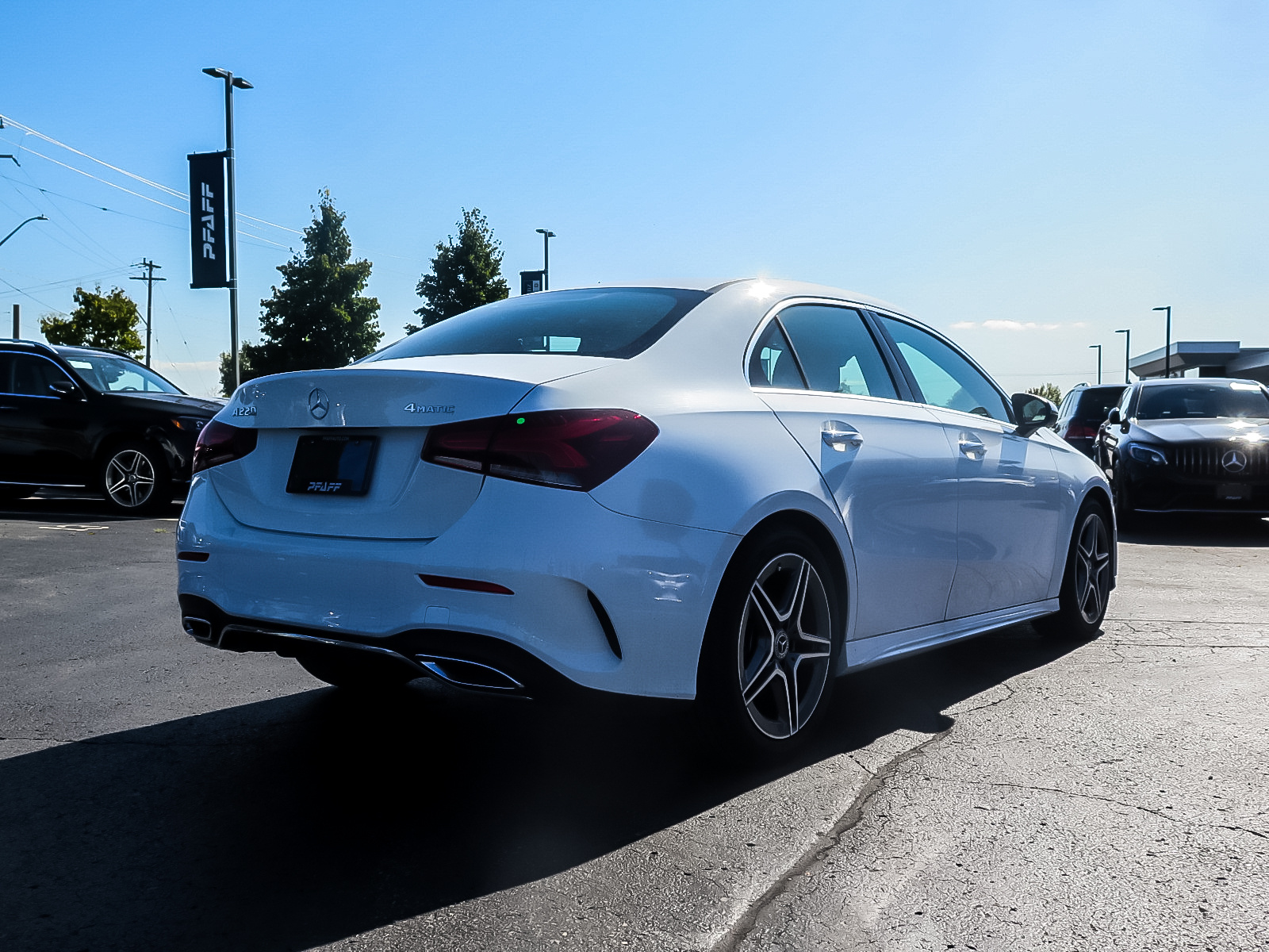 New 2019 Mercedes-Benz A220 4MATIC Sedan