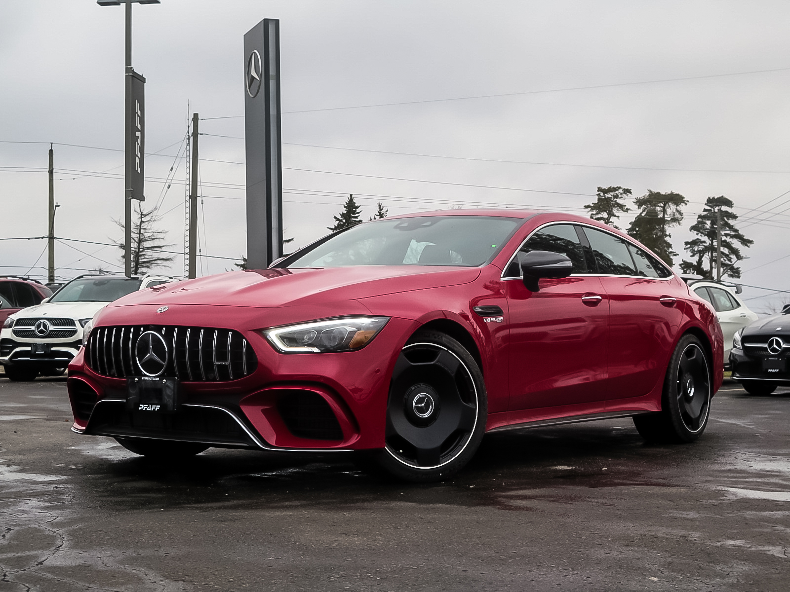 New 2019 Mercedes-Benz AMG GT 63 S 4MATIC+