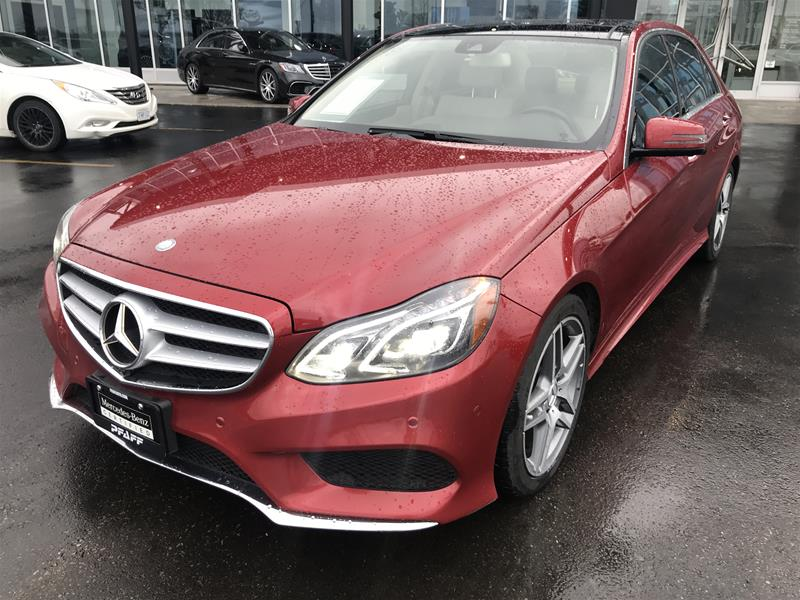 Certified Pre-Owned 2015 Mercedes-Benz E250 BlueTEC 4MATIC Sedan