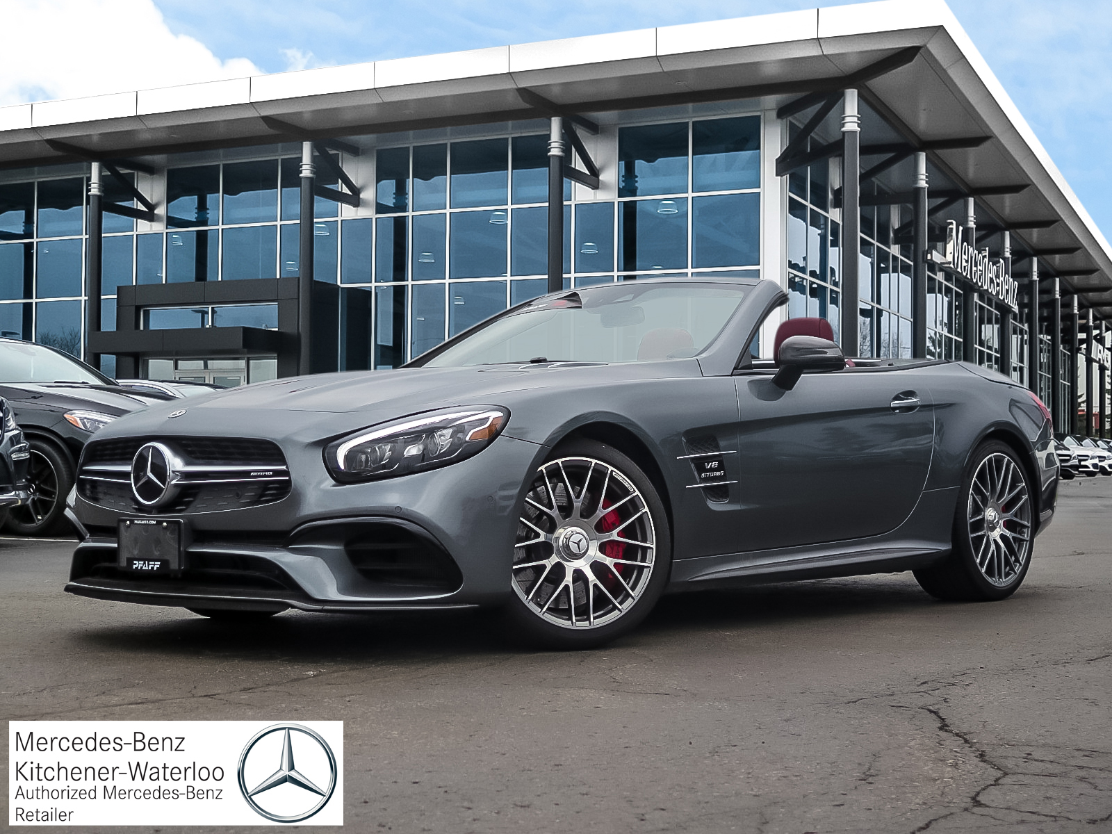Certified Pre-Owned 2018 Mercedes-Benz SL63 AMG Roadster