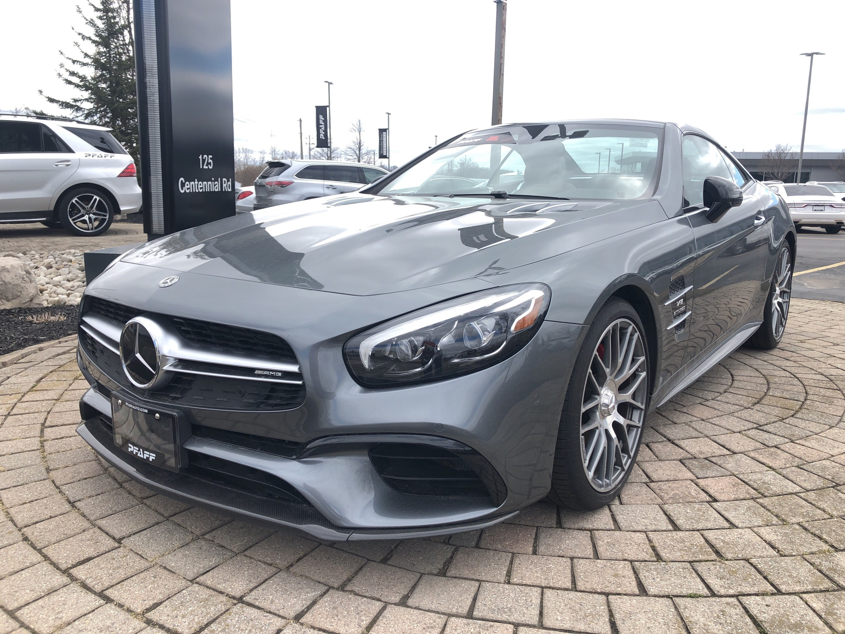 0232ac3a7fa5 New 2018 Mercedes-Benz SL63 AMG Roadster 2-Door Coupe in Kitchener ...