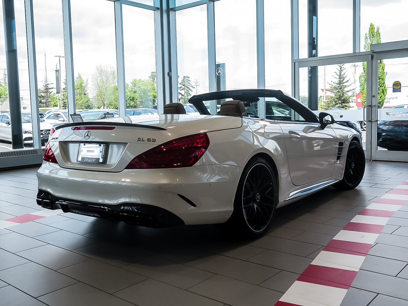 New 2019 Mercedes-Benz SL63 AMG Roadster