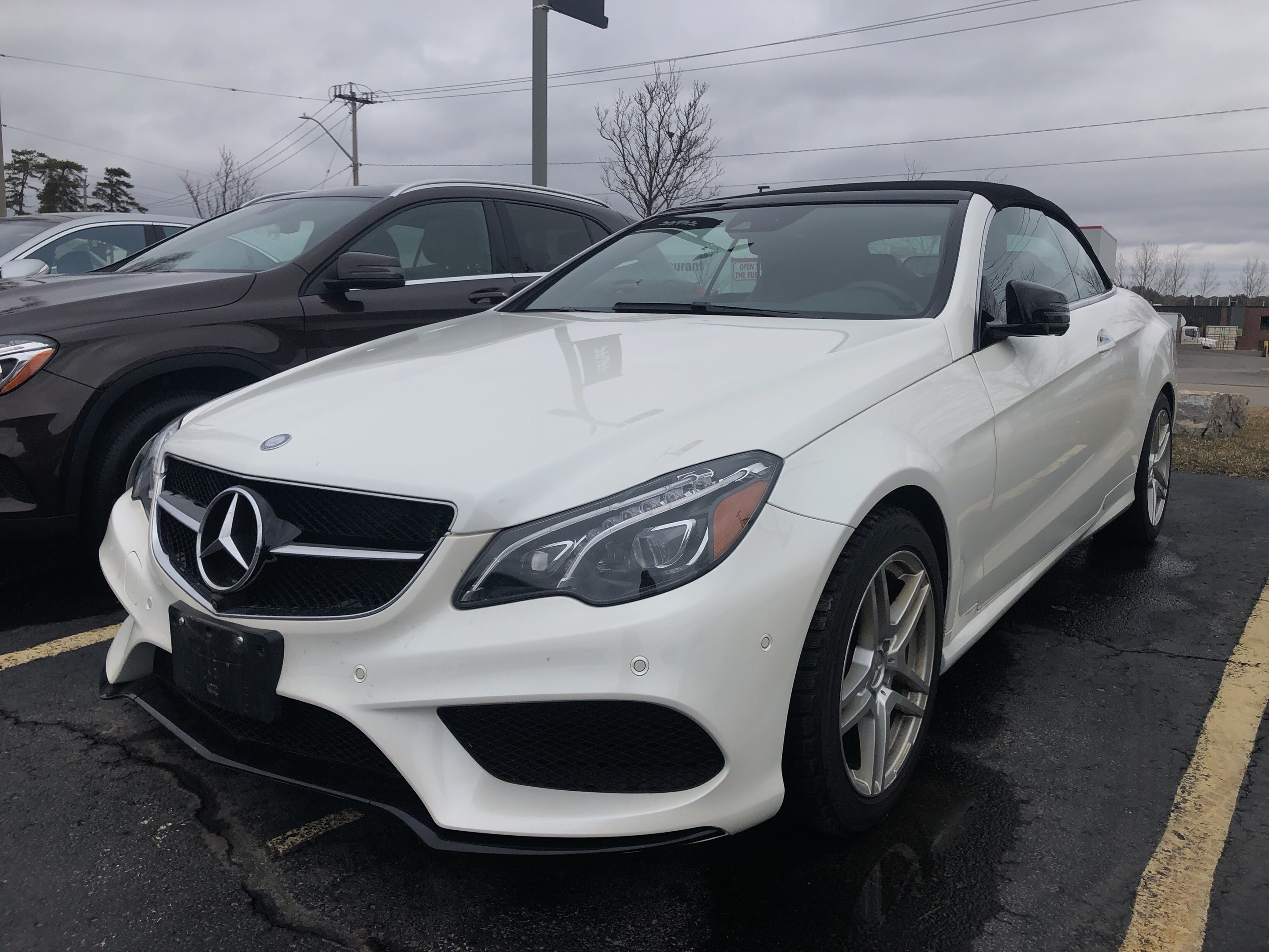 Certified Pre Owned 2016 Mercedes Benz E400 Cabriolet