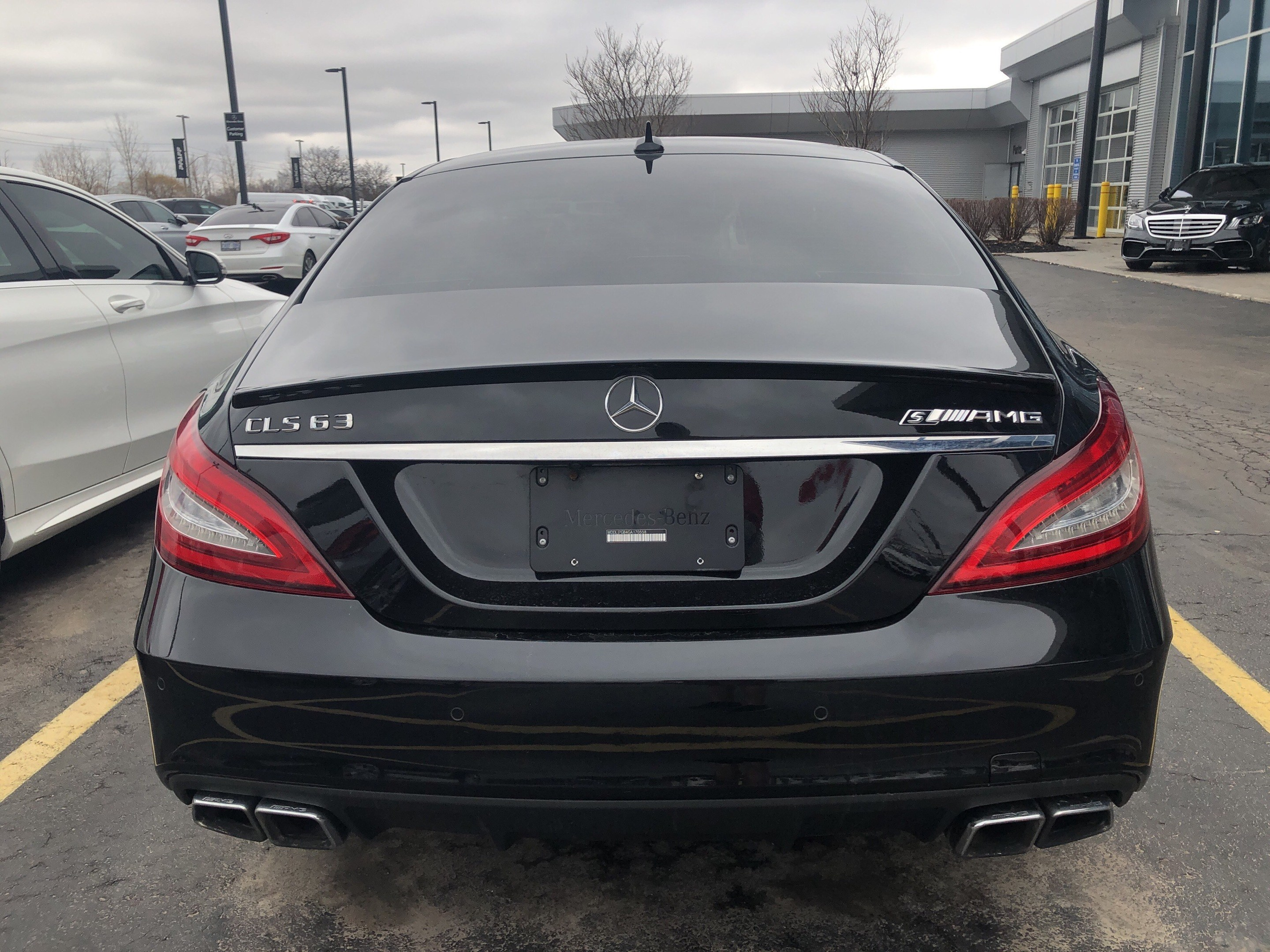 Certified Pre Owned 2016 Mercedes Benz Cls63 Amg S 4matic Coupe