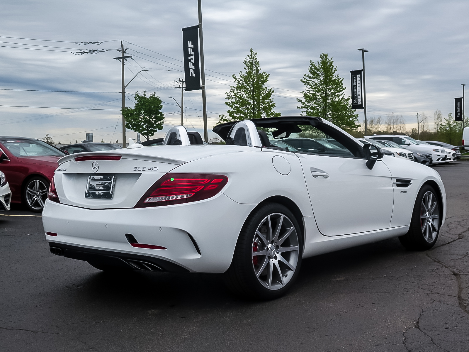 New 2019 Mercedes-Benz SLC43 AMG Roadster