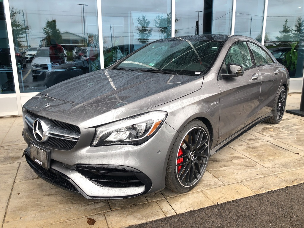 New 2019 Mercedes Benz Cla45 Amg 4matic Coupe 4 Door Coupe
