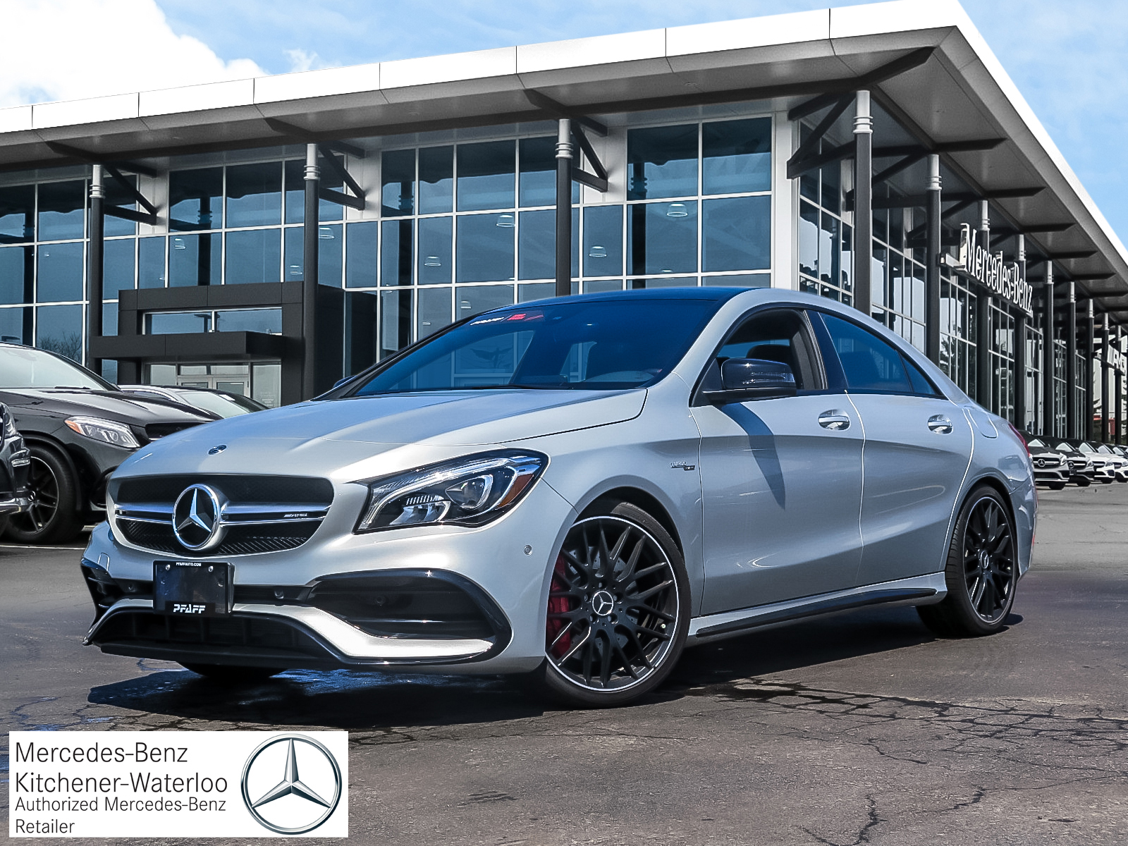 New 2018 Mercedes-Benz CLA45 AMG 4MATIC Coupe