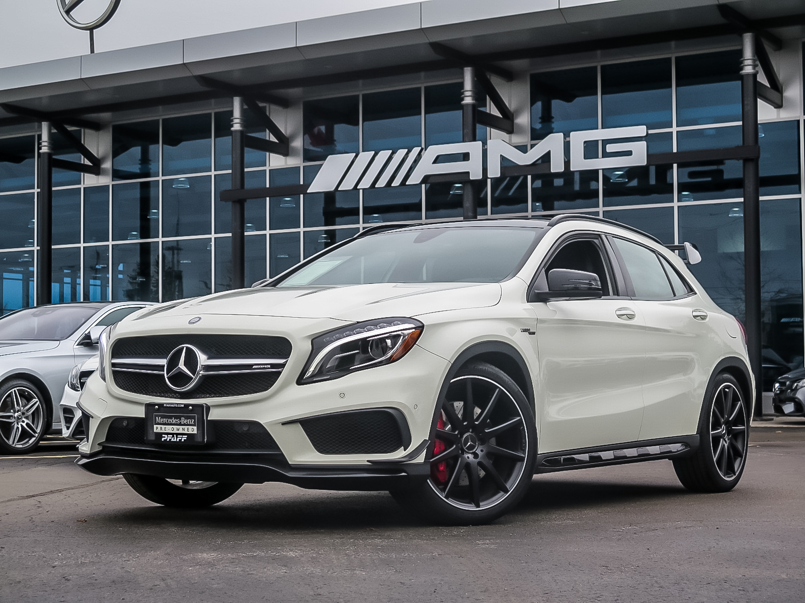 Certified Pre-Owned 2017 Mercedes-Benz GLA45 AMG 4MATIC SUV