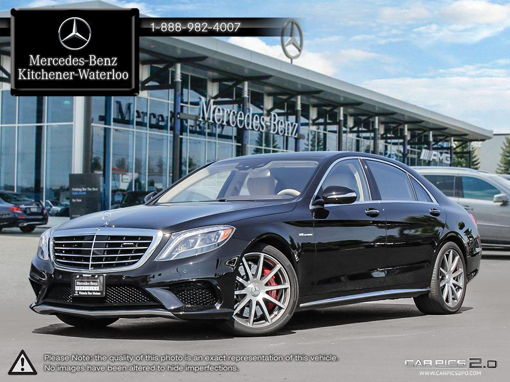 Certified Pre-Owned 2017 Mercedes-Benz S-Class S63 AMG Sedan in ...