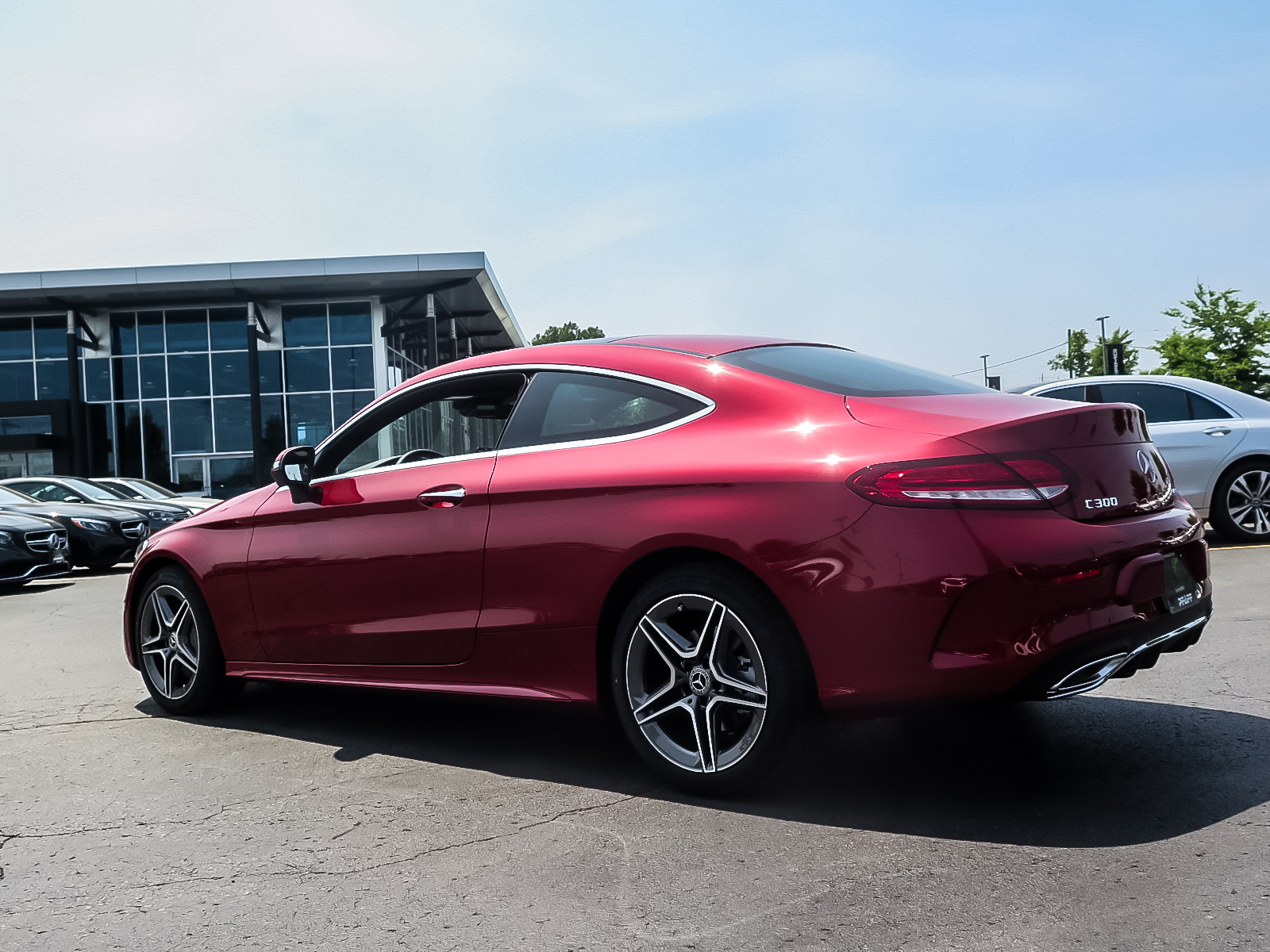 New 2019 Mercedes-Benz C300 4MATIC Coupe