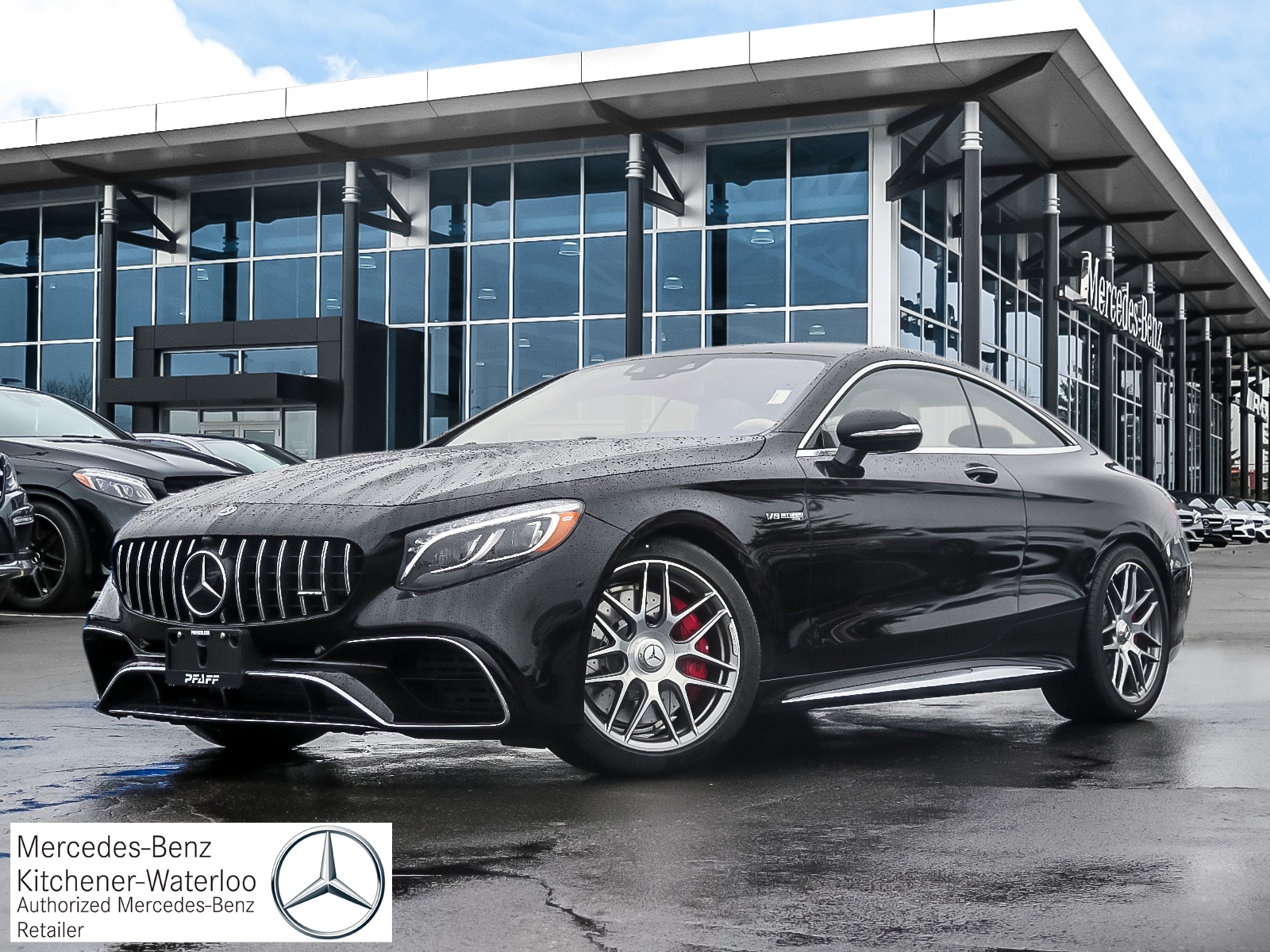 DEMO 2019 Mercedes-Benz S63 AMG 4MATIC+ Coupe