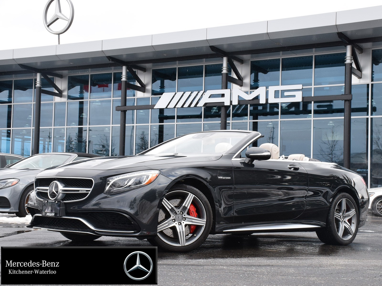 Certified Pre-Owned 2017 Mercedes-Benz S63 AMG 4MATIC Cabriolet