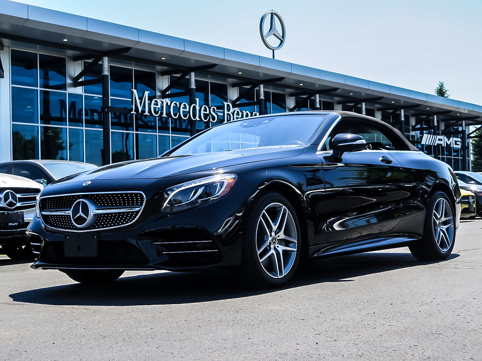 Certified Pre-Owned 2018 Mercedes-Benz S560 Cabriolet