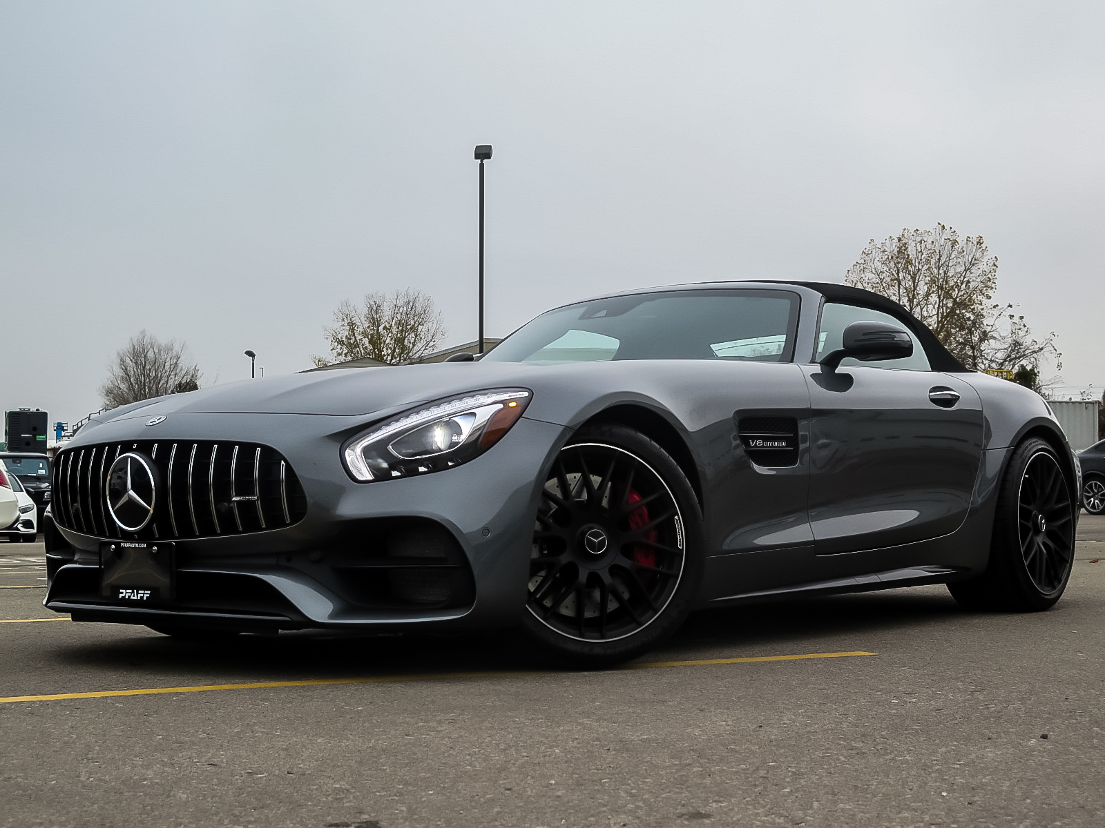 Certified Pre-Owned 2018 Mercedes-Benz AMG GT C Roadster