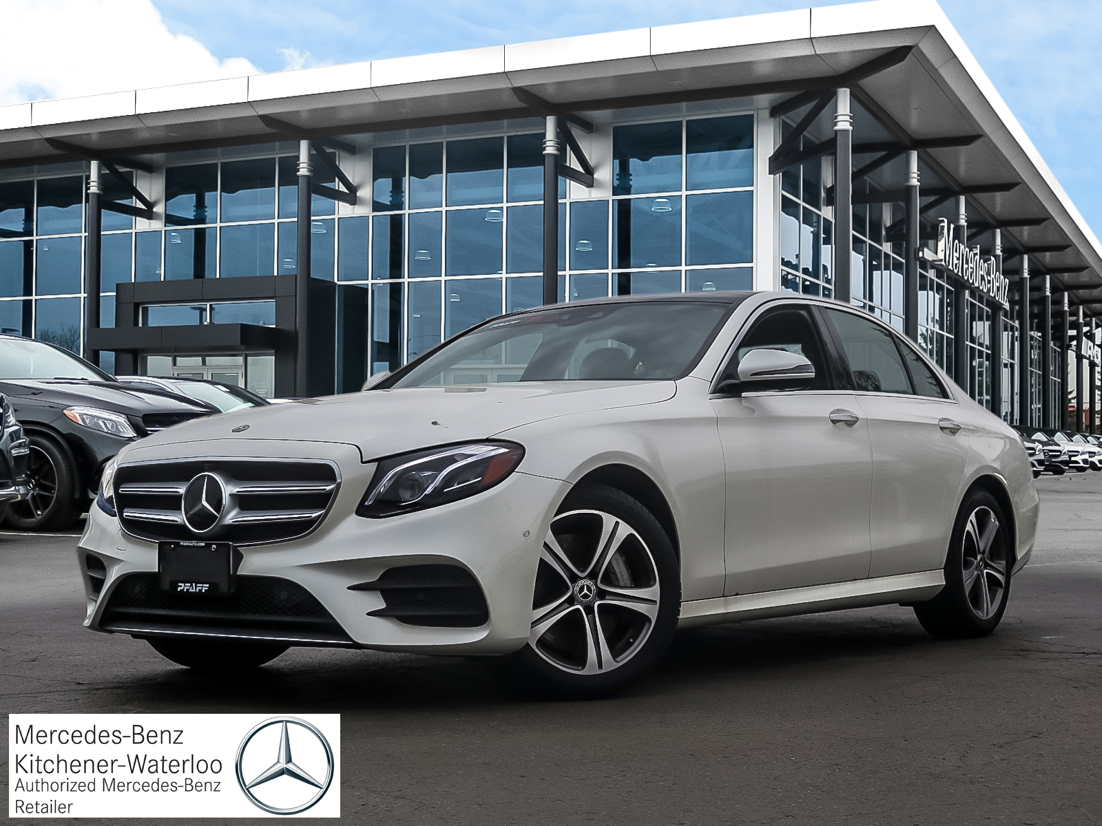 DEMO 2019 Mercedes-Benz E450 4MATIC Sedan