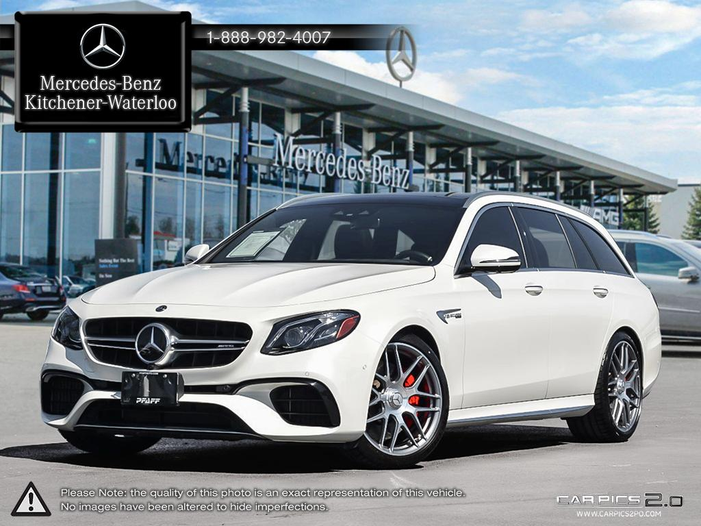 Certified Pre Owned 2018 Mercedes Benz E Class E63 AMG