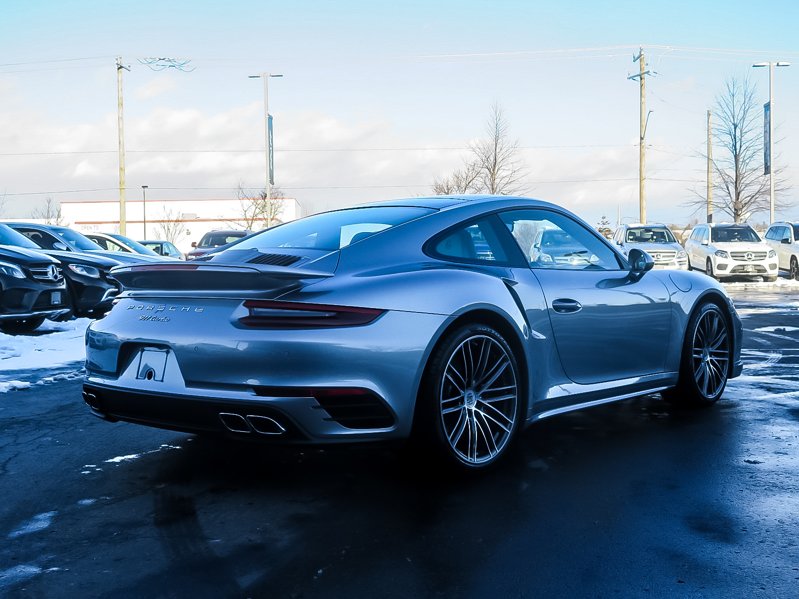 Pre-Owned 2017 Porsche 911 Turbo Coupe PDK