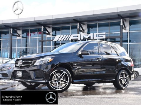 Certified Pre-Owned 2017 Mercedes-Benz GLE43 AMG 4MATIC SUV