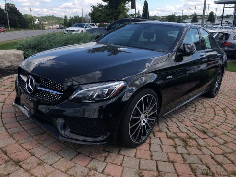 New 2018 Mercedes-Benz C43 AMG 4MATIC Sedan