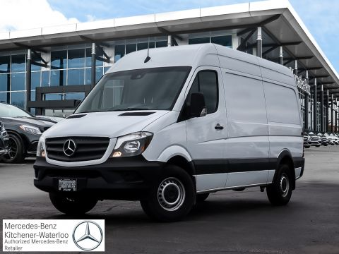 New 2018 Mercedes-Benz Sprinter V6 2500 Cargo 144