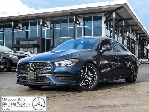 New Mercedes-Benz CLA for Sale | Mercedes-Benz Kitchener