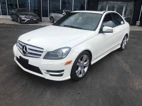 Pre-Owned 2012 Mercedes-Benz C300 4MATIC Sedan