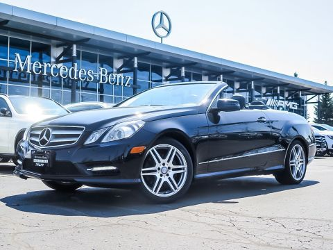Pre-Owned 2012 Mercedes-Benz E350 Cabriolet