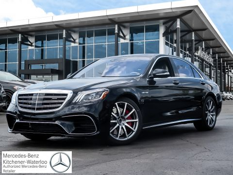 New 2019 Mercedes-Benz S63 AMG 4MATIC+ Sedan