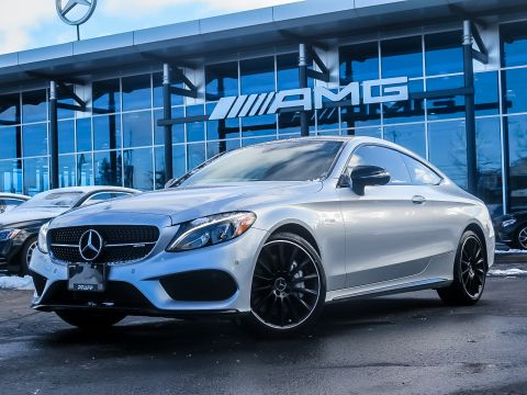 Certified Pre-Owned 2018 Mercedes-Benz C43 AMG 4MATIC Coupe