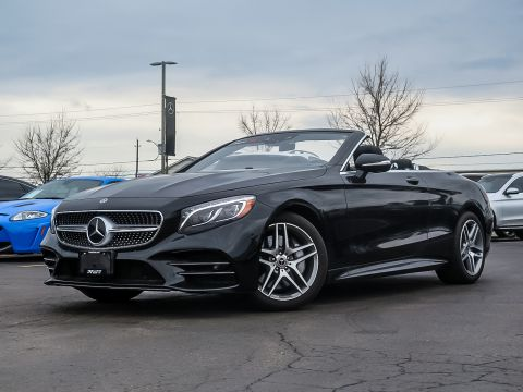 New 2018 Mercedes-Benz S560 Cabriolet