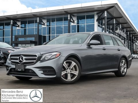 Certified Pre-Owned 2018 Mercedes-Benz E400 4MATIC Wagon